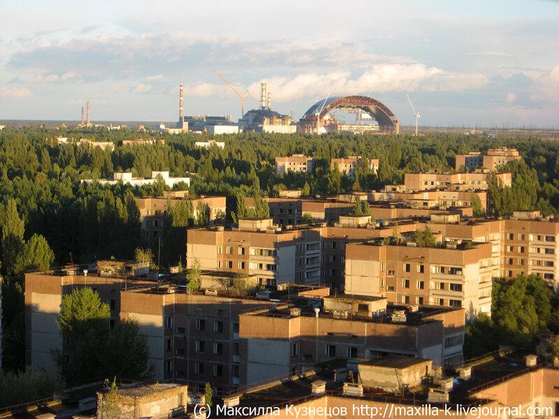 Закат над Припятью
