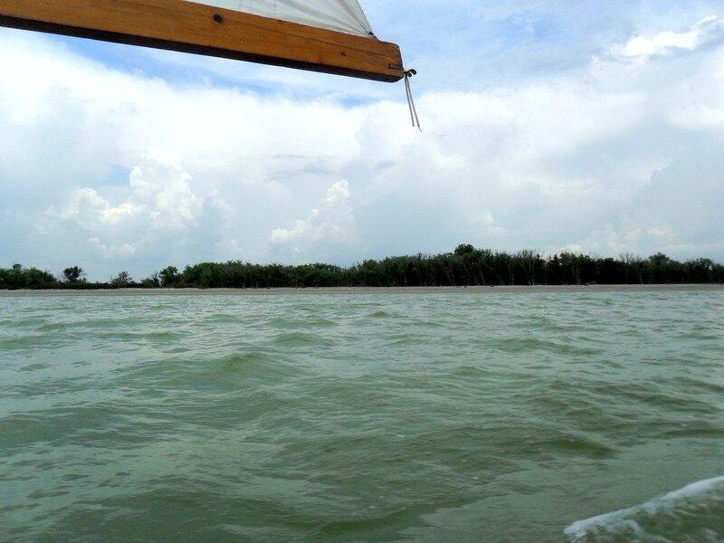 У моря, поход яхтенный