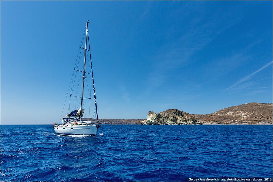 Бело-голубая магия Санторини