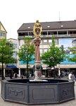 Городской фонтан со львом