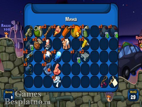 Worms: Reloaded / Червячки: Перезагрузка + 7 DLC