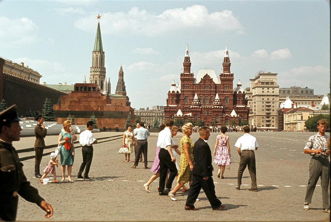 Красная площадь, Исторический музей, Мавзолей Ленина
