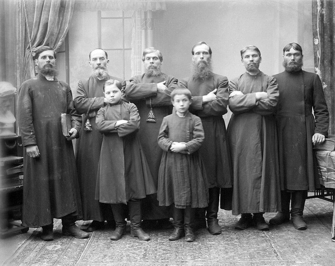 Группа старообрядцев – поморцев. г. Нижний Новгород.