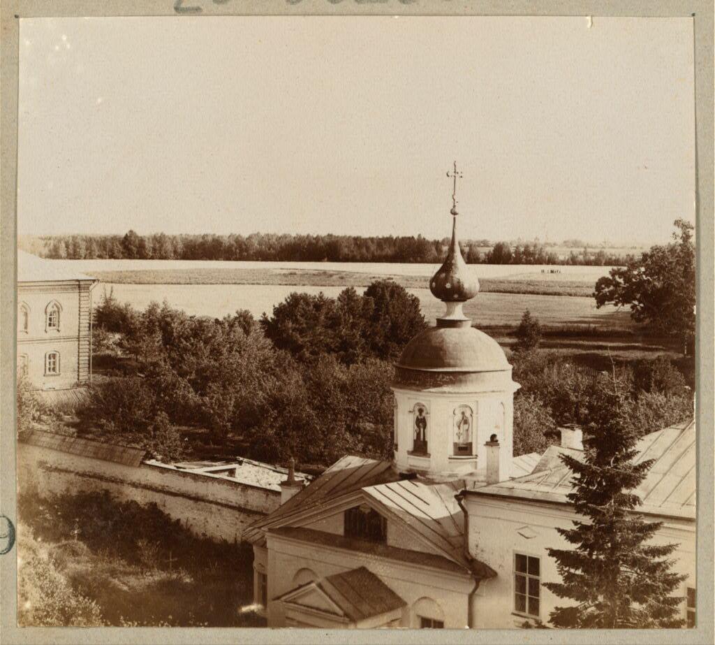 Вид с колокольни Николо-Бабаевского монастыря. Этюд. 1910.