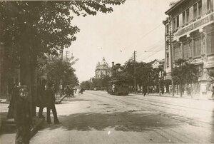 На улицах Ростова.