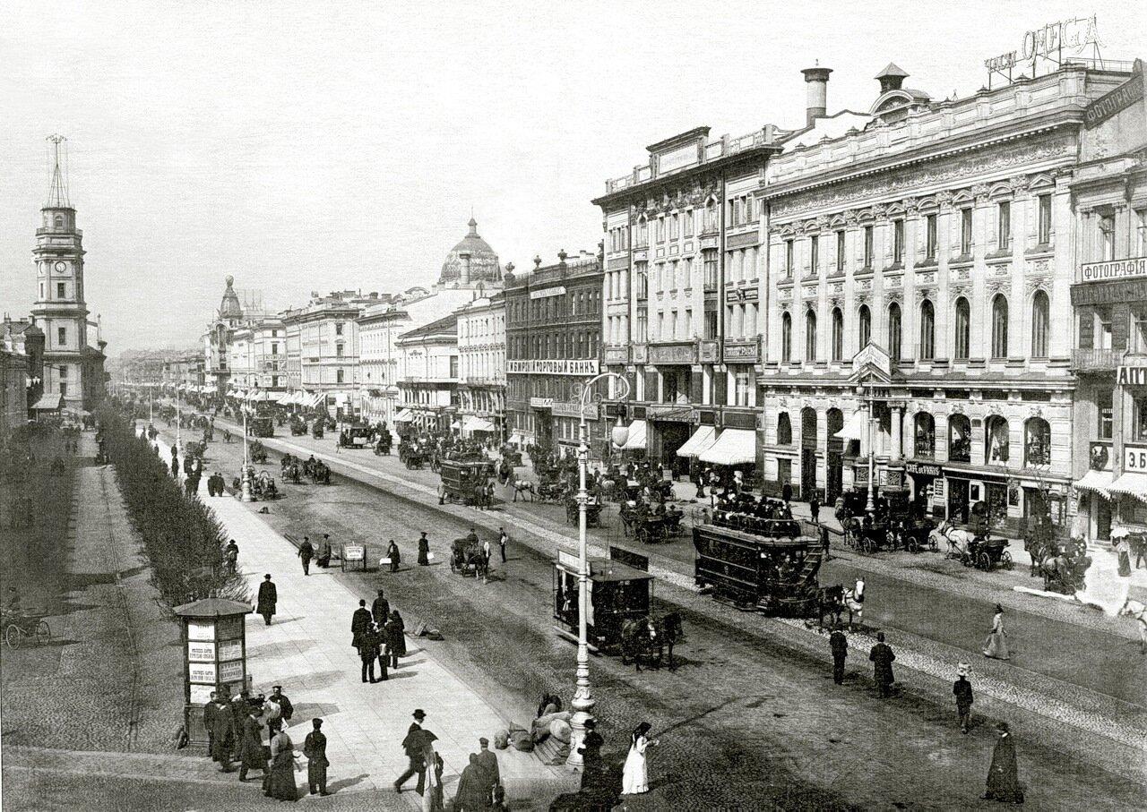 Невский проспект. 1903.