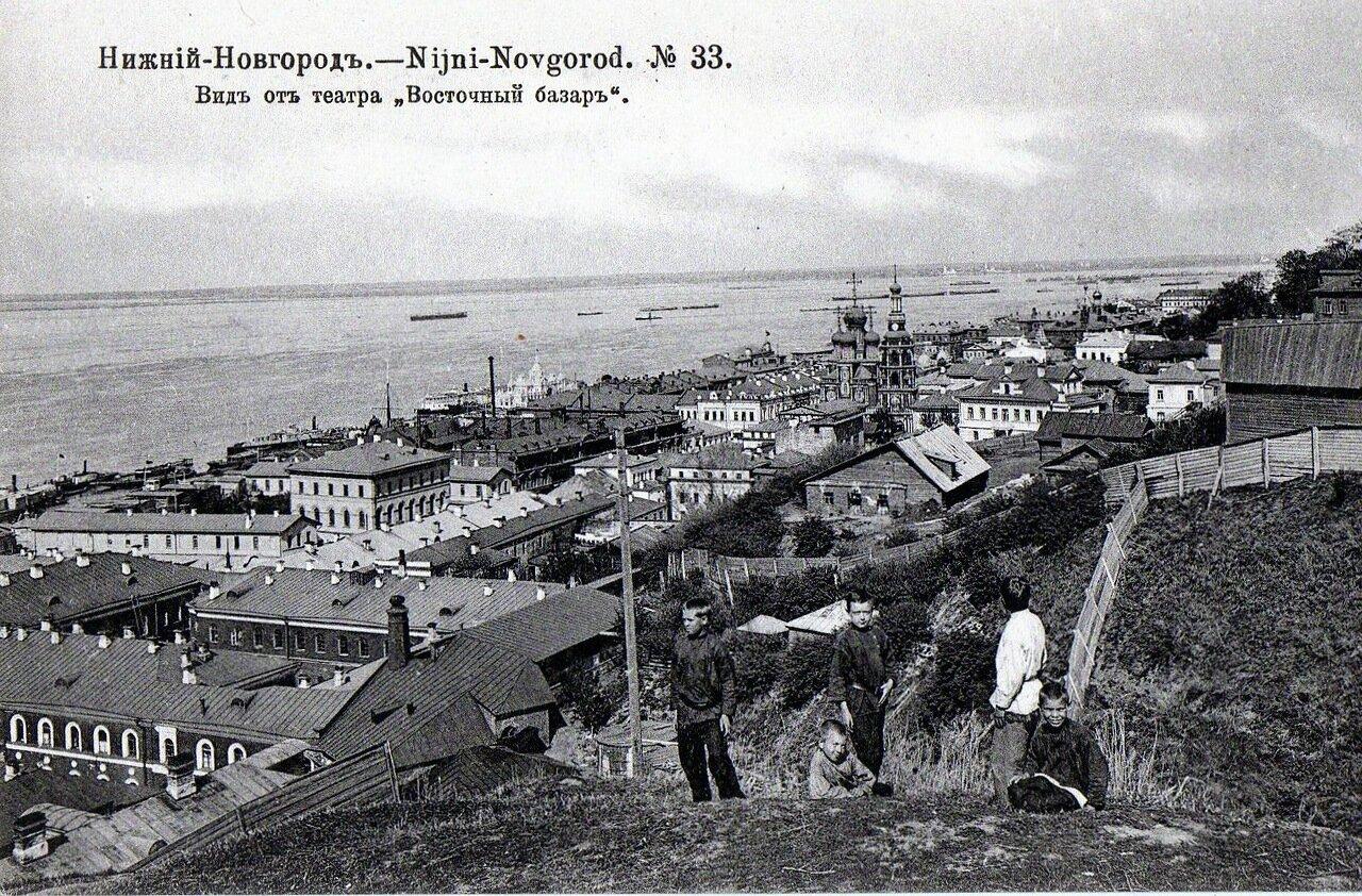 Вид от театра Восточный базар