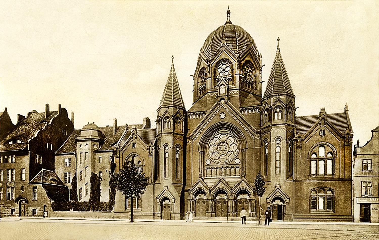 Синагога на о. Ломзе. 1920