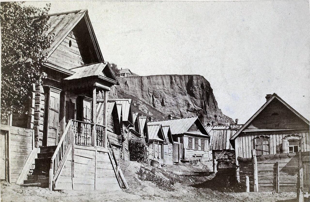 Улица в Затоне.1885 г