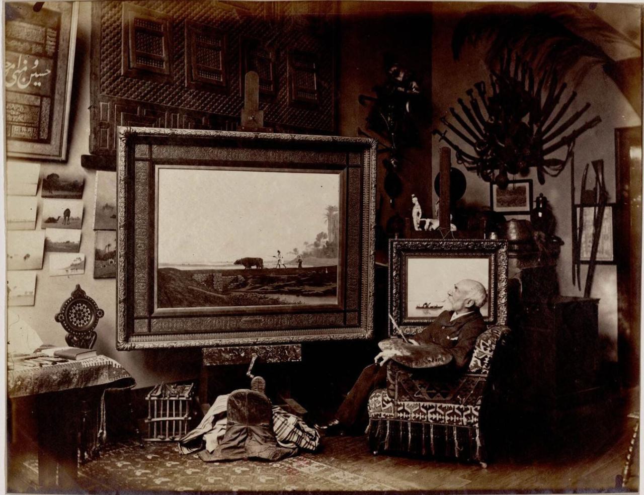 Чарльз Теодор Фрей (1814-1888) художник