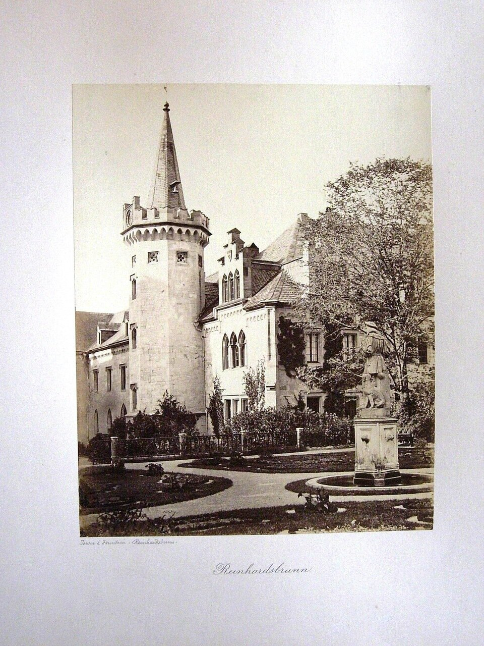 Reinhardsbrunn. [Photographs of Gotha, 1858. ]