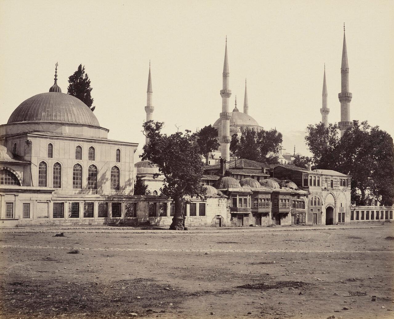 27 мая 1862. Мечеть Султана Ахмеда, известная как Голубая мечеть, Константинополь