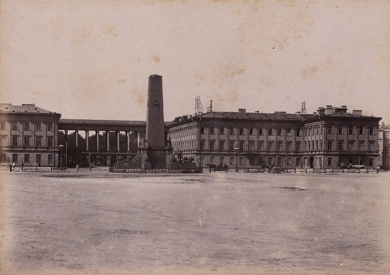 Саксонский дворец 1890-е