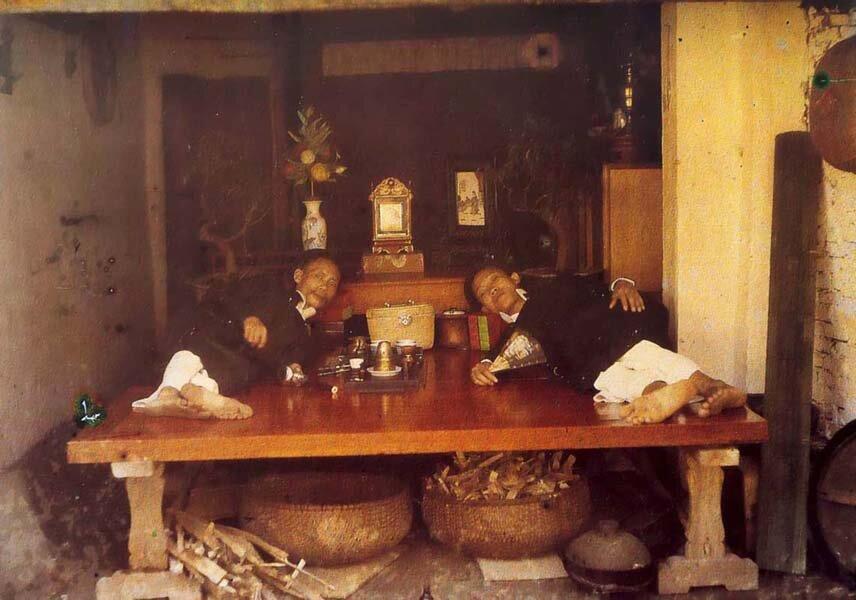 Два курильщиков опия, 1915