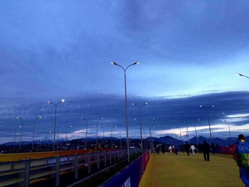 Олимпиада, Сочи, вечер