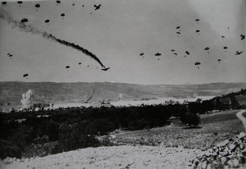 Вторая мировая: вторжение в Грецию