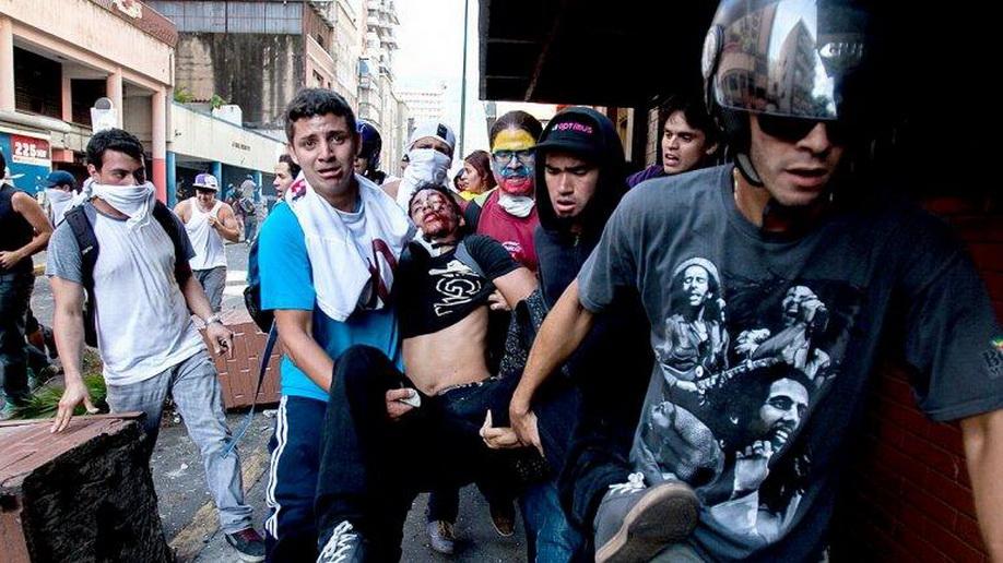Беспорядки в Каракасе