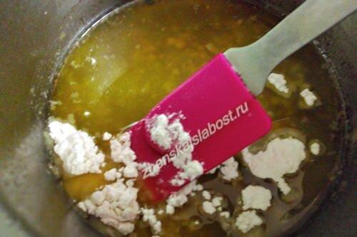 масло с мукой для приготовления закуски