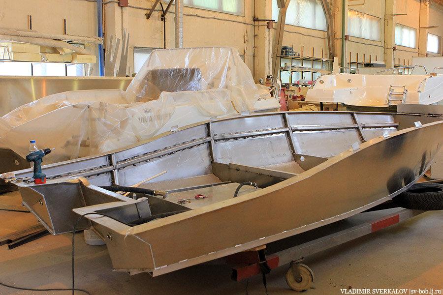 производство алюминиевых лодок в самаре