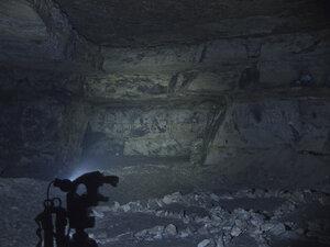 Налобный фонарь Spark SX5-350 CW, в максимальном режиме светит так