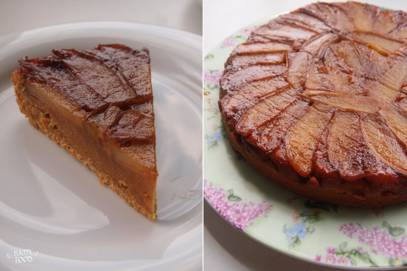 Caramel Pear Upside Down Cake Uk