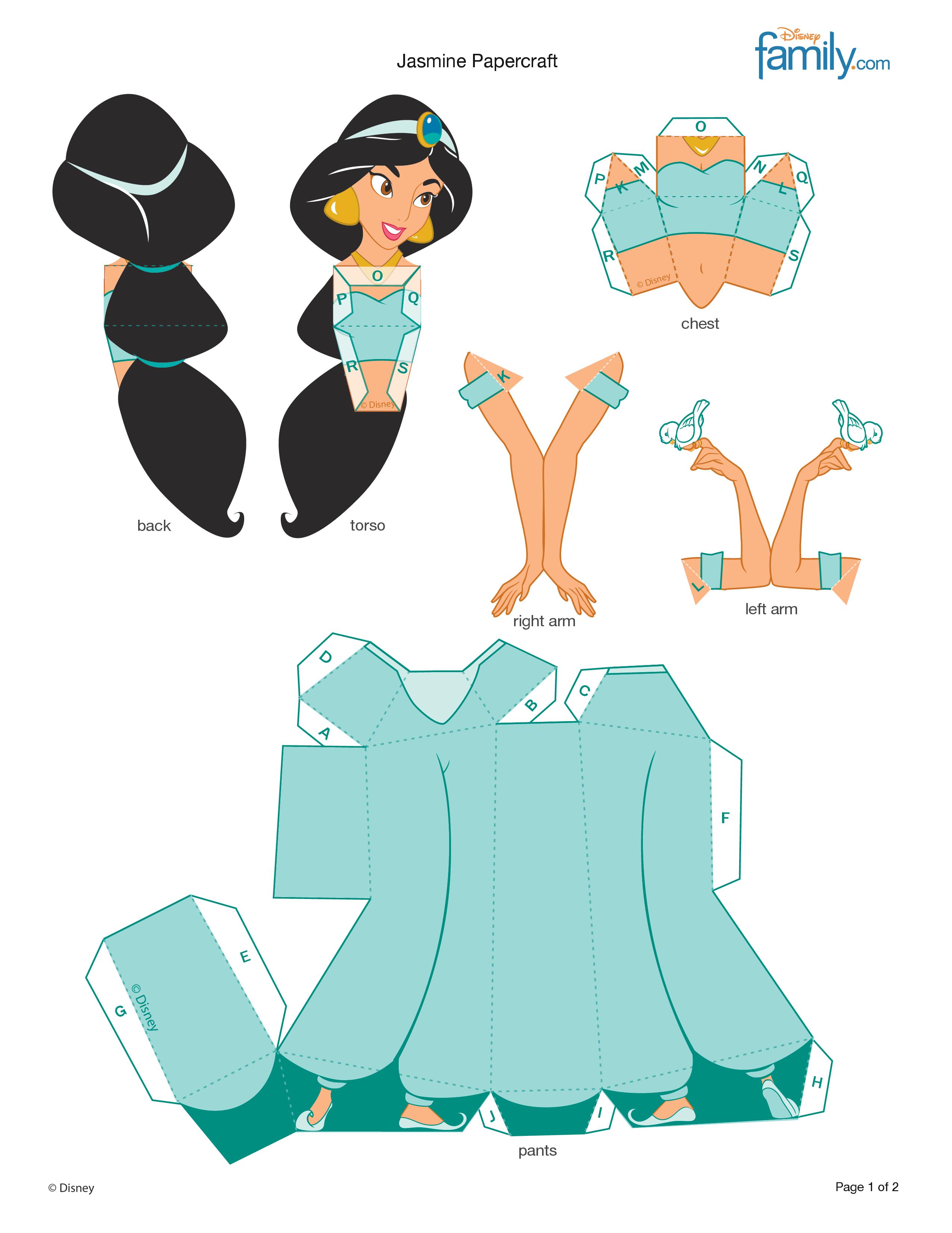 Куклы из картона с одеждой своими руками