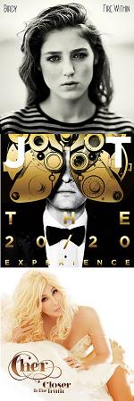 Рецензии на альбомы Birdy / Justin Timberlake / Cher