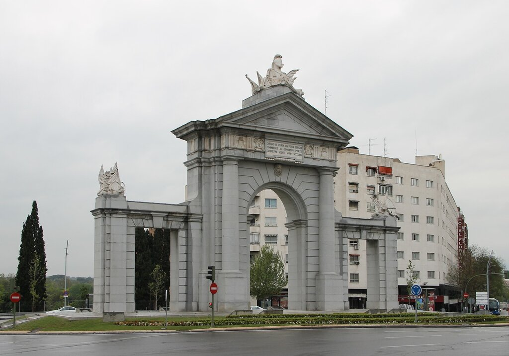 Madrid. Gate of San Vicente (Puerta de San Vicente)