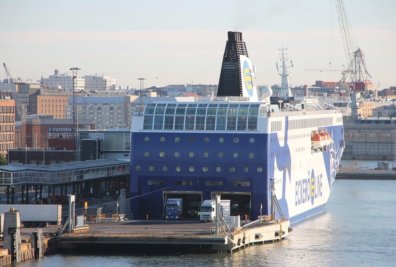 Хельсинки порт, , Западный терминал. Паром Финляндия