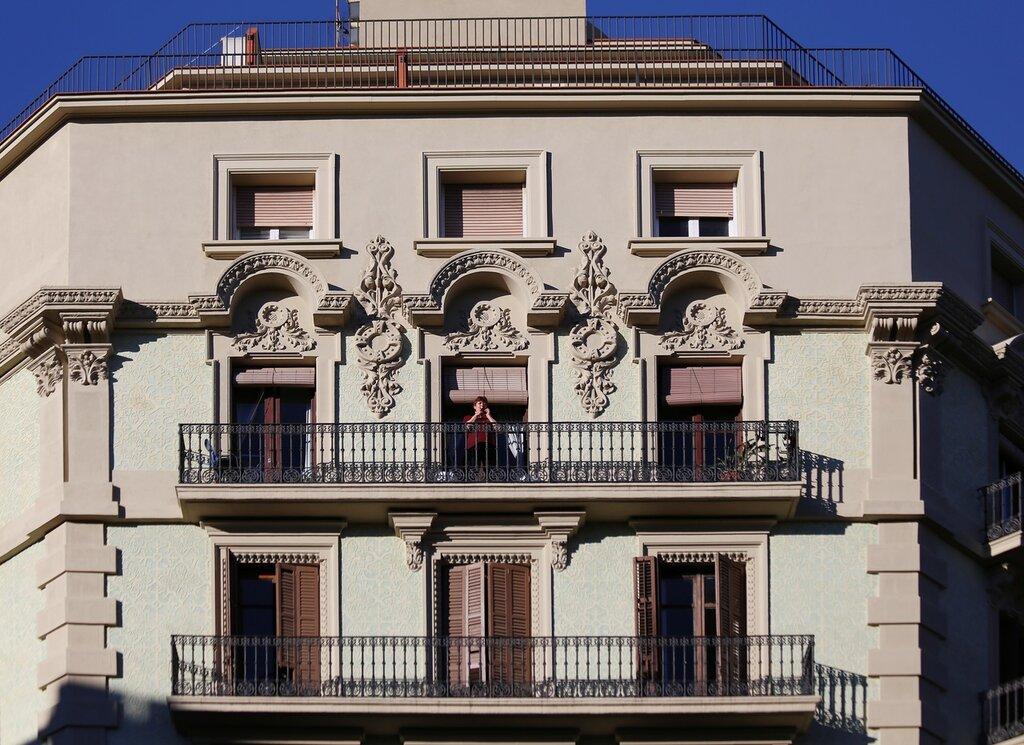 Барселона. Ронда-де-Сан-Пьере (Ronda de Sant Pere). Каталонский модерн