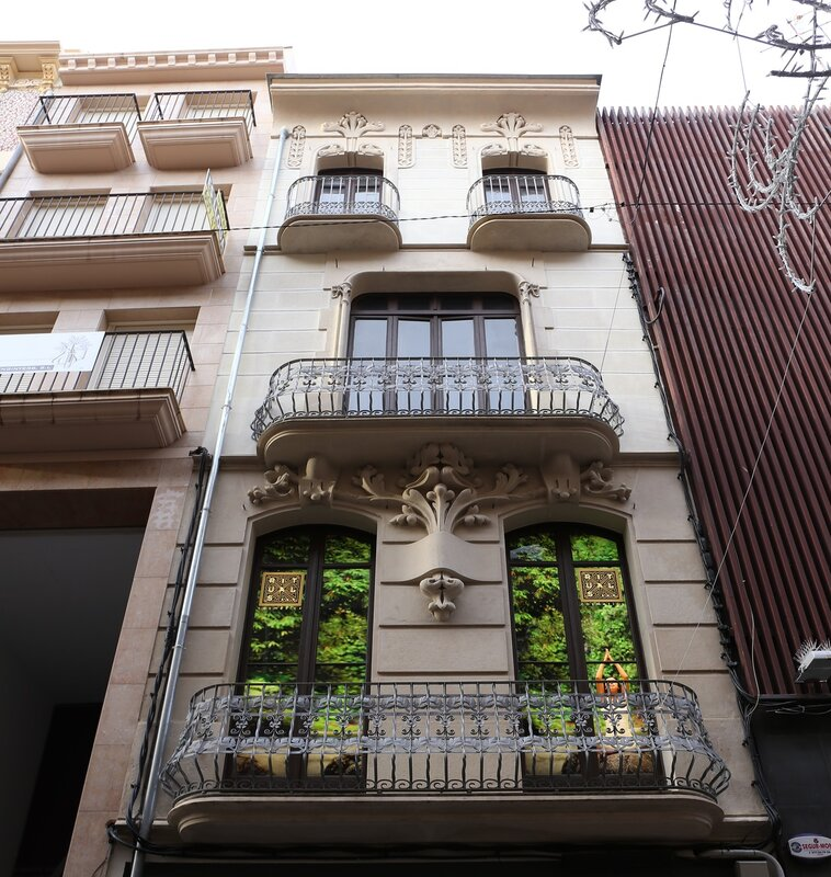 Реус. Маршрут модерна. Каса Карпа. Casa Carpa