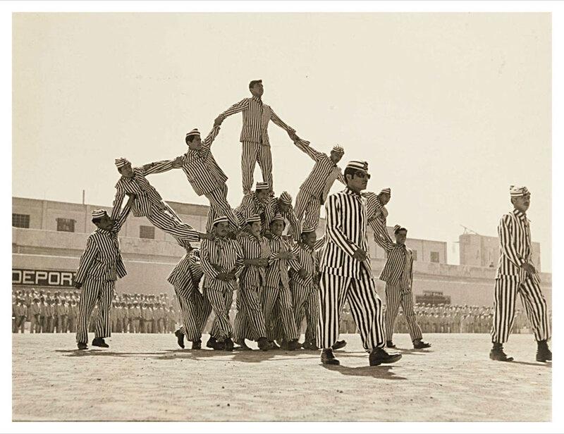 Prisoners PYRAMID , circa 1950. PHOTOGRAPHER Unidentified