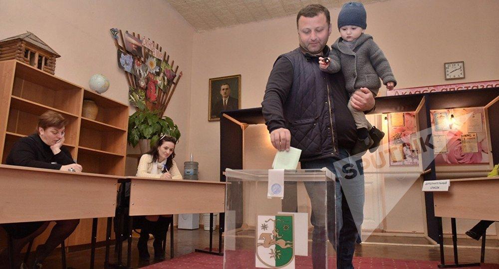 Избирательные участки открылись вАбхазии