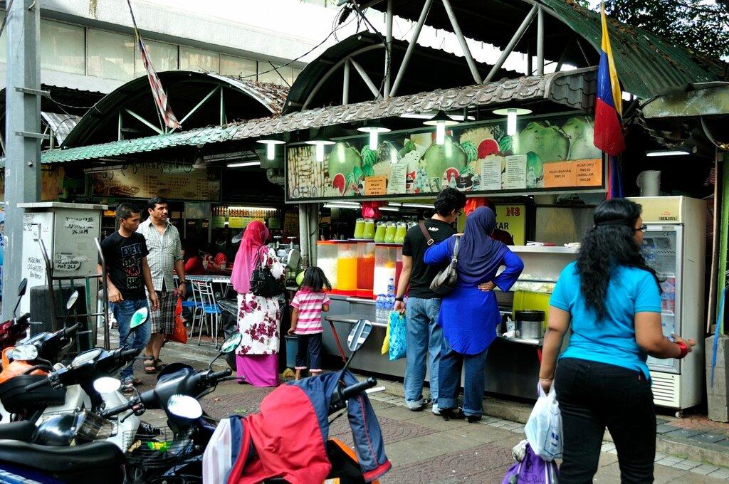 Куала-Лумпур это дешево: где поесть