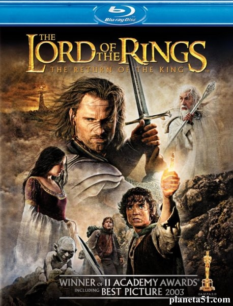 Властелин колец: Возвращение Короля [Theatrical & Extended Edition] / The Lord of the Rings: The Return of the King (2003/HDRip)