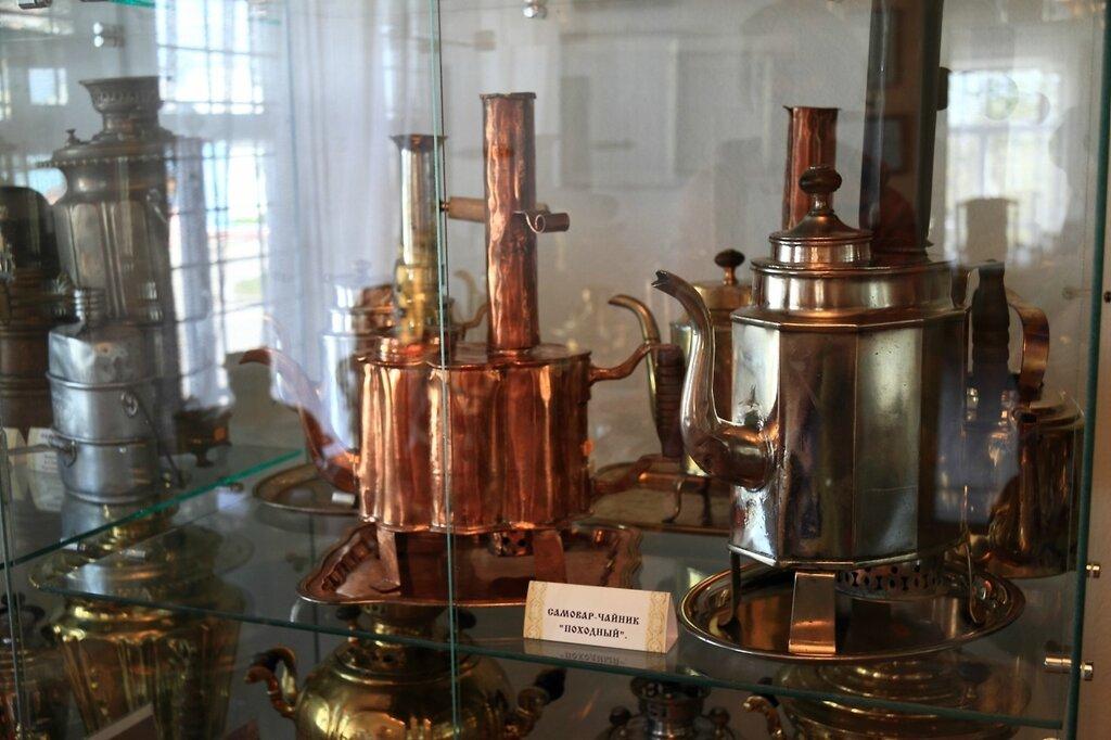 """Музей самоваров, самовар-чайник """"Походный"""""""