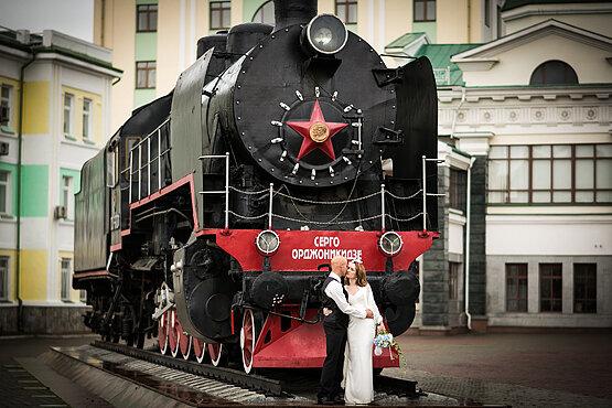 где свадебную фотосессию в красноярске