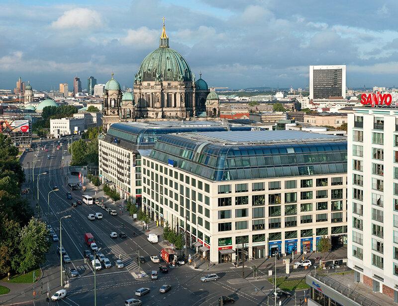 Здание, в котором находится берлинский офис Яндекса