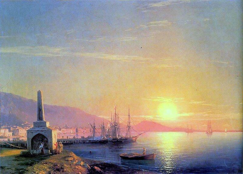 Айвазовский. Восход солнца в Феодосии