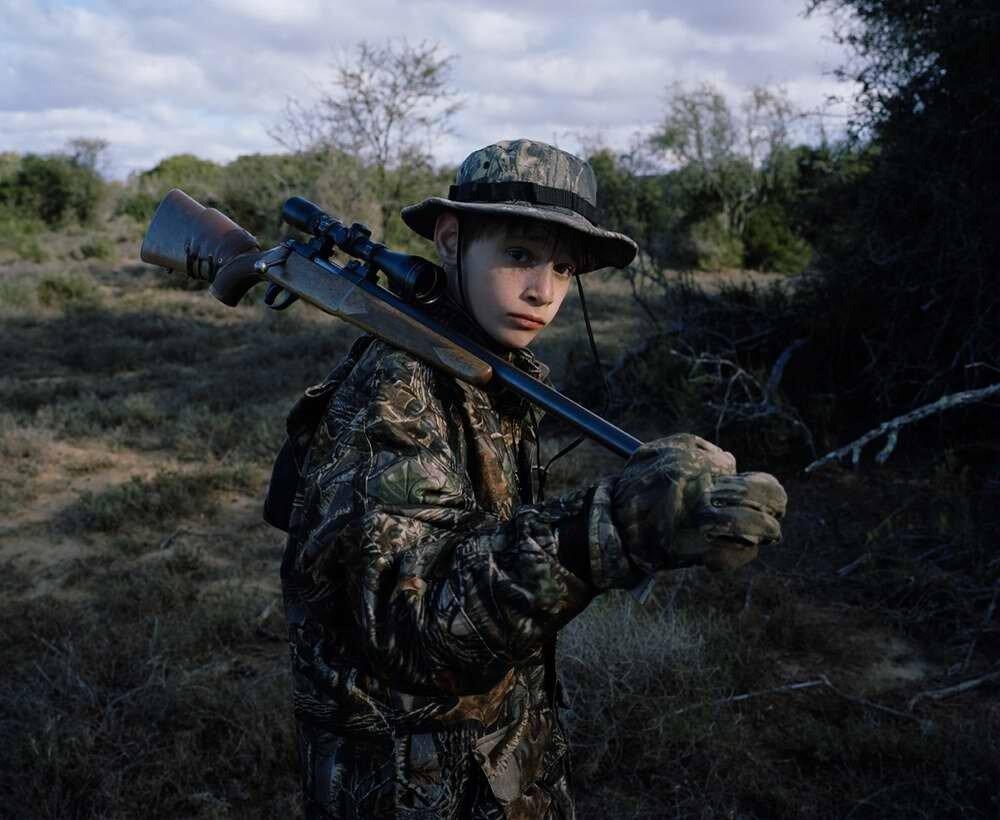 Юный охотник, Южная Африка