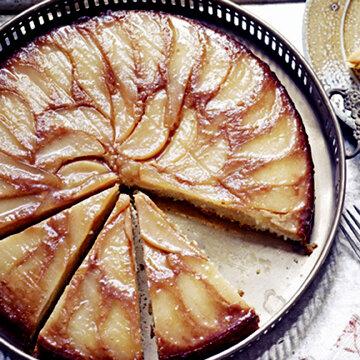 Вот такой пирог с грушами