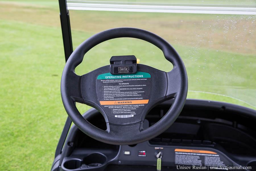 Тест-драйв гольф-кара