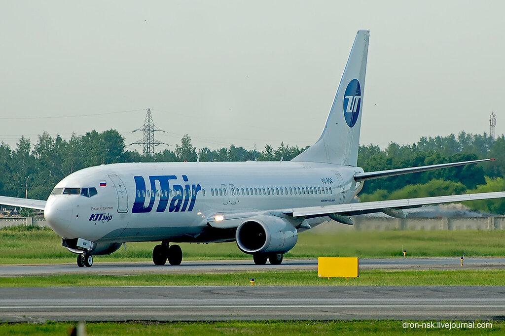 Utair Boeing 737-800 VQ-BQR 2011 u0421u0432u0435u0436u0430u043a!