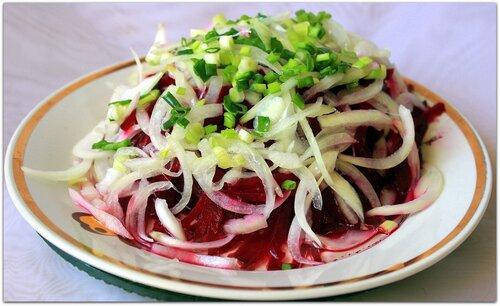 Самый быстрый салат из свеклы!