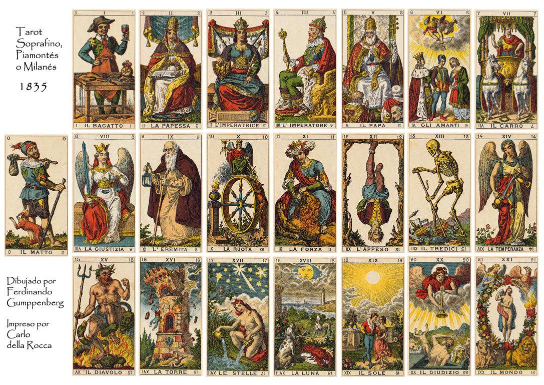 Цыганское Таро: история создания и особенности колоды