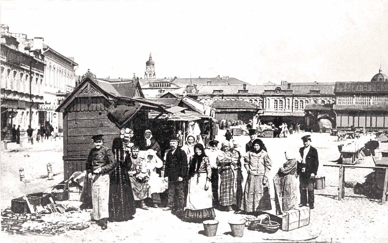 Рыбный базар.