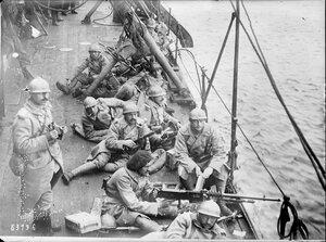 1919. Французские солдаты в районе Мурманска