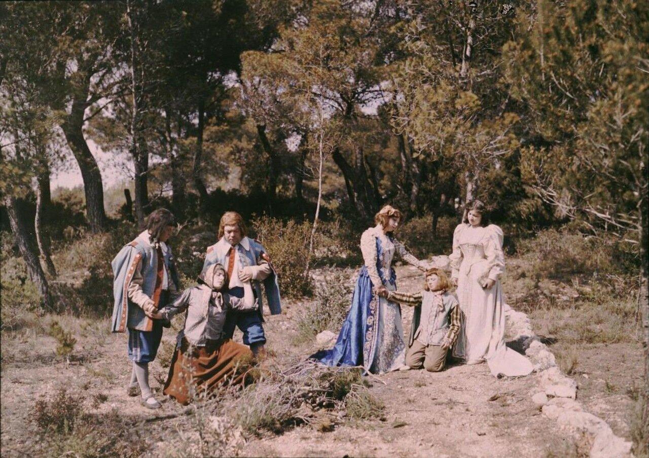 1907. Съемки костюмной ленты