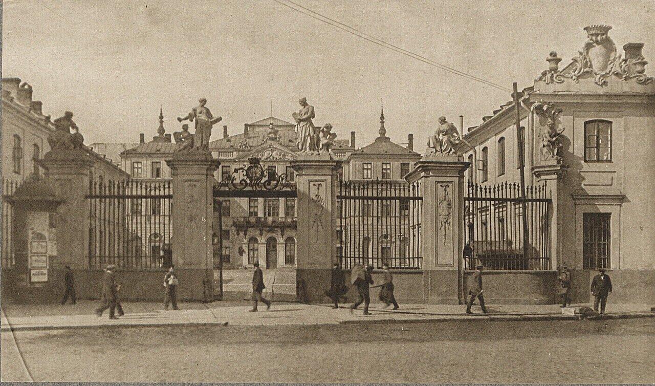 Варшава. Брухловский дворец