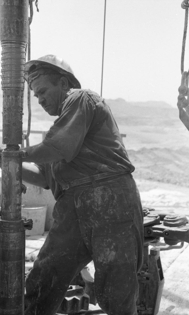 50. Работники нефтяной промышленности, Иран, 1958